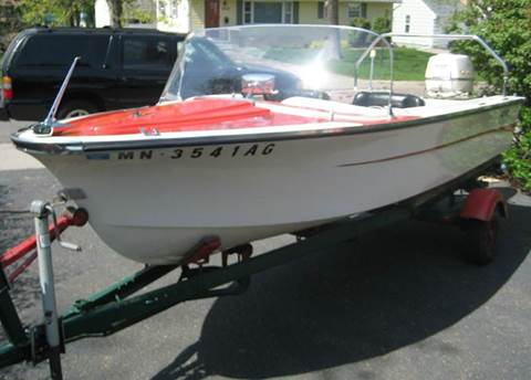 1962 Alumacraft Alpex Alora Deluxe Ski Boat for sale in Maplewood, MN
