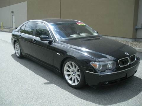 2002 BMW 7 Series for sale in Melrose, MA