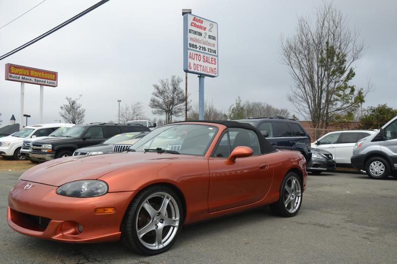 2005 mazda mazdaspeed mx 5 speed in charlotte nc auto choice. Black Bedroom Furniture Sets. Home Design Ideas