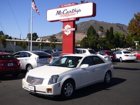2004 Cadillac CTS for sale in San Luis Obispo, CA