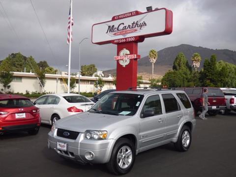 2006 Ford Escape Hybrid for sale in San Luis Obispo, CA