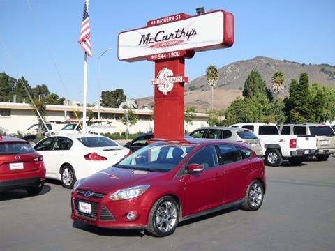 2014 Ford Focus $11999 & McCarthy Wholesale - Used Cars - San Luis Obispo CA Dealer markmcfarlin.com