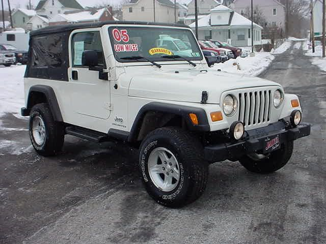2005 Jeep Wrangler for sale in Scranton PA