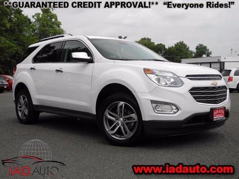 2016 Chevrolet Equinox for sale in Laurel, MD