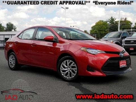 2017 Toyota Corolla for sale in Laurel, MD