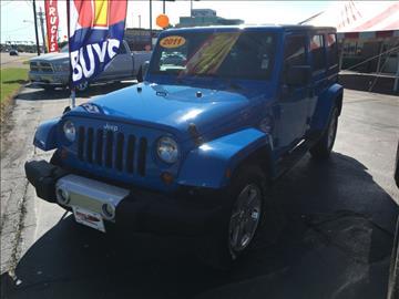 2011 Jeep Wrangler Unlimited for sale in Jonesboro, AR