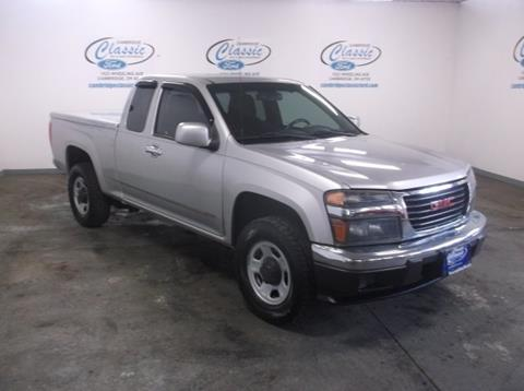 2011 GMC Canyon for sale in Cambridge, OH