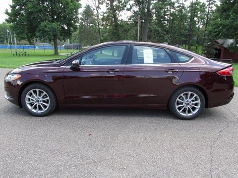 2017 Ford Fusion for sale in Cambridge, OH