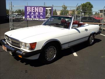 Convertibles for sale bend or for Mercedes benz of bend