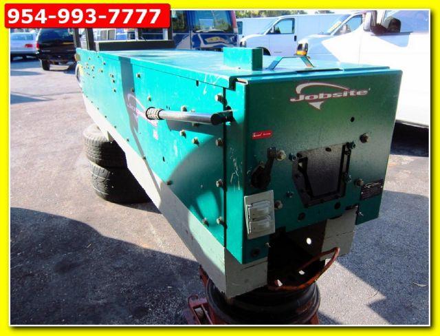 2009 JOBSITE GUTTER MACHINE SEEMLESS JS6 6 INCH K STYLE 6 INCH K STYLE - POMPANO BEACH FL