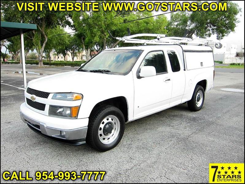 2009 chevrolet colorado work truck 4x2 extended cab 4dr in pompano beach fl seven stars. Black Bedroom Furniture Sets. Home Design Ideas