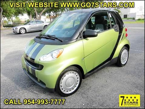 2012 Smart fortwo for sale in Pompano Beach, FL