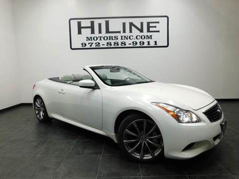2009 Infiniti G37 Convertible for sale in Carrollton, TX