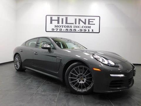2014 Porsche Panamera for sale in Carrollton, TX