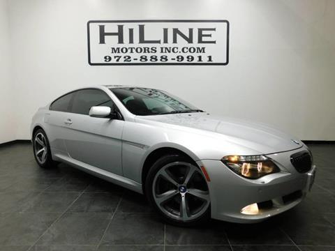 2009 BMW 6 Series for sale in Carrollton, TX