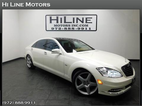 2012 Mercedes-Benz S-Class for sale in Carrollton, TX
