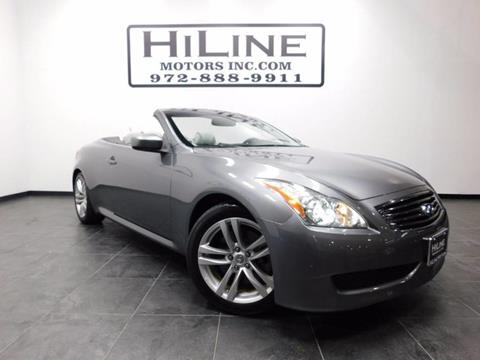 2010 Infiniti G37 Convertible for sale in Carrollton, TX