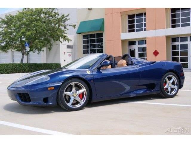 2001 Ferrari 360 Spider 2dr Convertible - Fort Lauderdale FL
