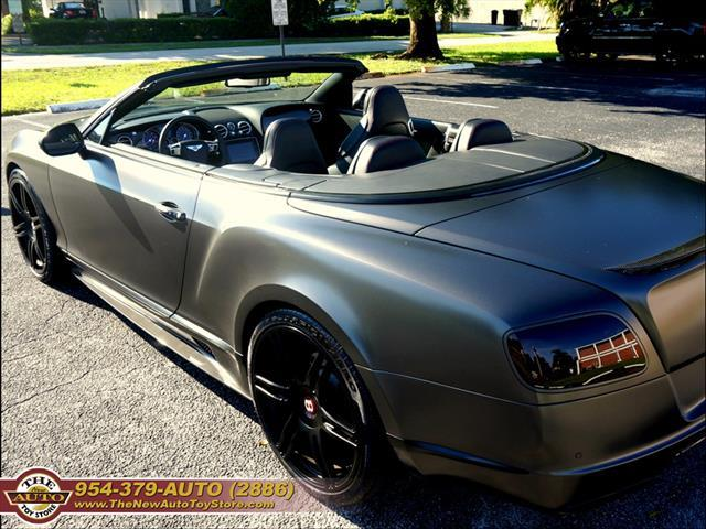 2013 Bentley Continental GTC V8 AWD 2dr Convertible - Fort Lauderdale FL