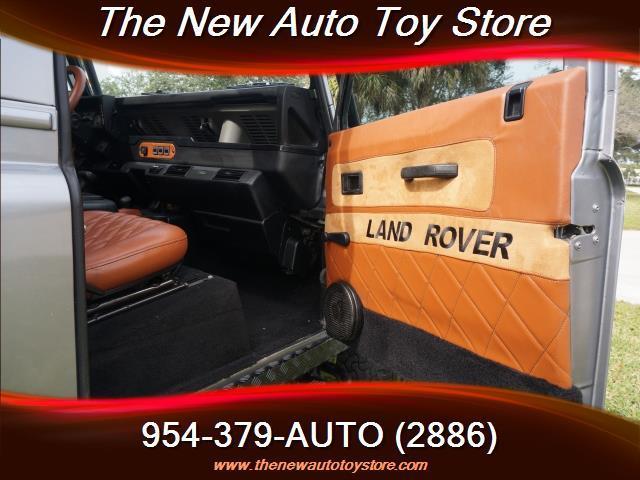 1997 Land Rover Defender 2dr 90 4WD SUV - Fort Lauderdale FL