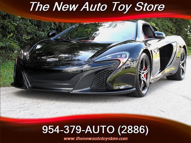 2015 McLaren 650S Spider 2dr Convertible - Fort Lauderdale FL