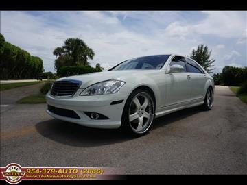 2008 Mercedes-Benz S-Class for sale in Fort Lauderdale, FL