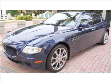 2005 Maserati Quattroporte for sale in Fort Lauderdale, FL