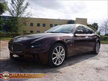 2005 Maserati Quattroporte for sale in Fort Lauderdale, FL