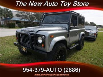 1997 Land Rover Defender for sale in Fort Lauderdale, FL