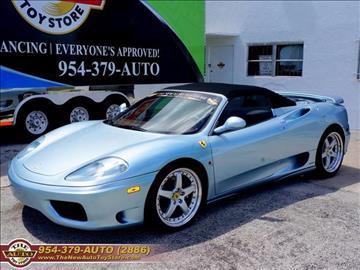 2003 Ferrari 360 Spider for sale in Fort Lauderdale, FL