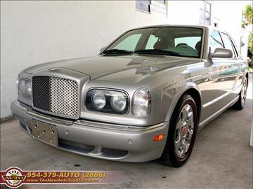 2001 Bentley Arnage for sale in Fort Lauderdale, FL