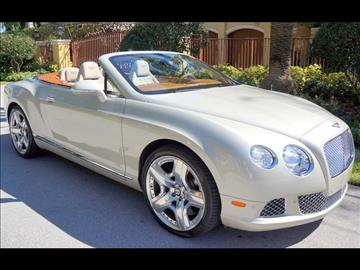 2013 Bentley Continental GTC for sale in Fort Lauderdale, FL