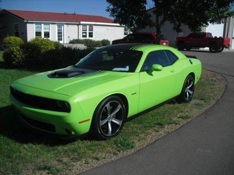 2015 Dodge Challenger for sale in Monte Vista, CO