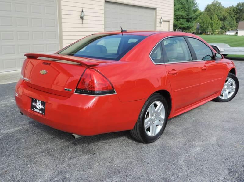 2012 Chevrolet Impala LT 4dr Sedan - Greenfield IN