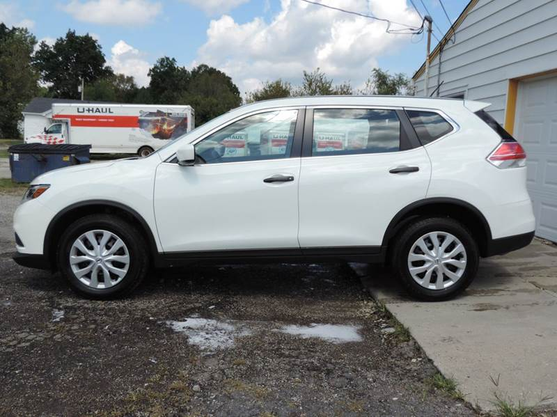 2016 Nissan Rogue S AWD 4dr Crossover - Greenfield IN