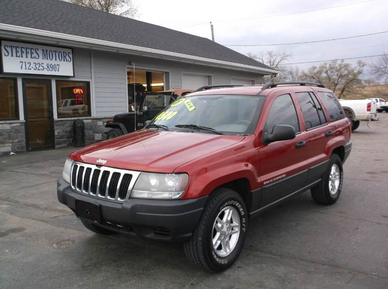 2003 jeep grand cherokee laredo 4dr 4wd suv in council bluffs ia steffes motors. Black Bedroom Furniture Sets. Home Design Ideas