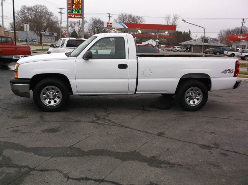 2005 chevrolet silverado 1500 work truck 2dr regular cab work truck 4wd lb in council bluffs ia. Black Bedroom Furniture Sets. Home Design Ideas