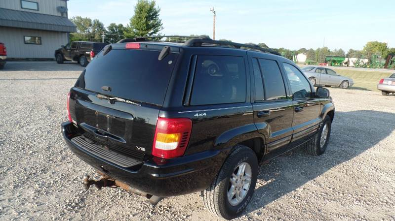 2000 jeep grand cherokee limited 4dr 4wd suv in hubbard ia d d. Cars Review. Best American Auto & Cars Review