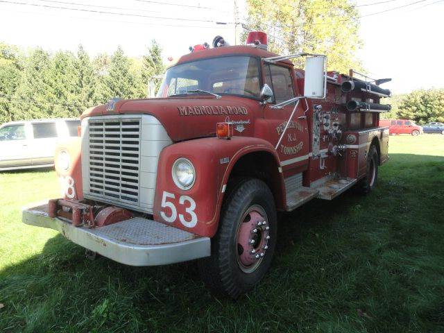 1970 International Fire Truck
