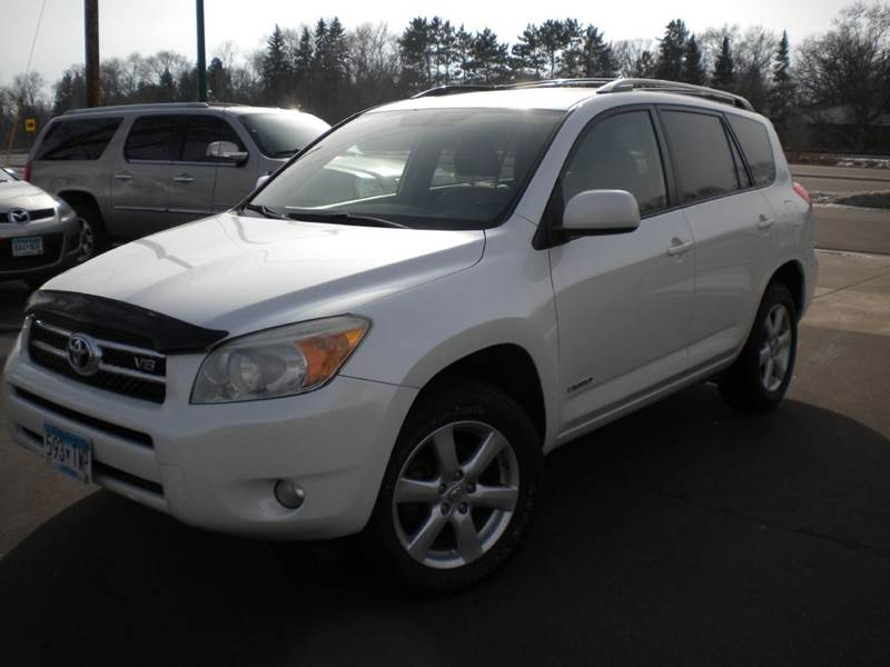 2008 Toyota Rav4 4x4 Limited 4dr Suv V6 In Crystal Mn
