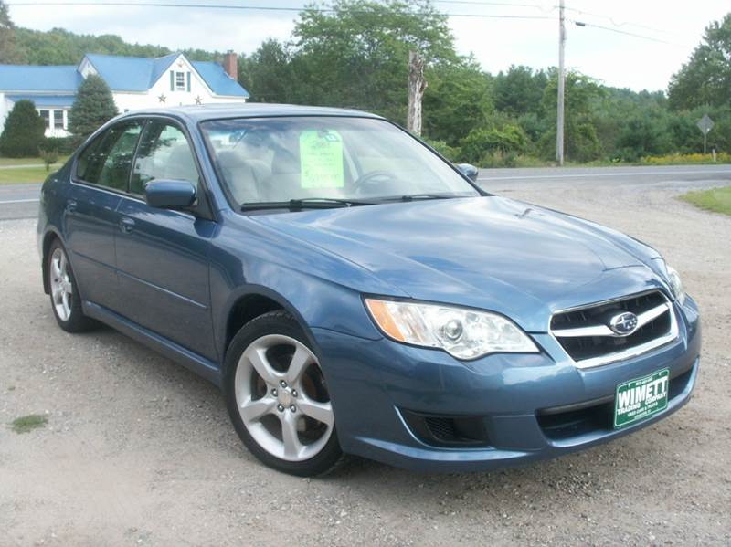 2008 subaru legacy awd 4dr sedan 4a leicester vt. Black Bedroom Furniture Sets. Home Design Ideas