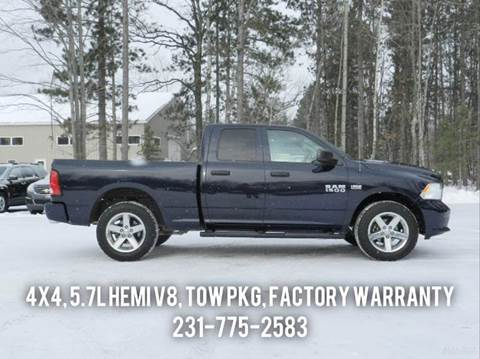 2014 RAM Ram Pickup 1500 for sale in Cadillac, MI