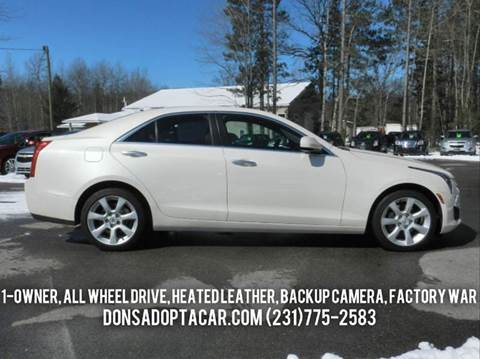 2013 Cadillac ATS for sale in Cadillac, MI