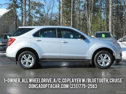2012 Chevrolet Equinox for sale in Cadillac, MI