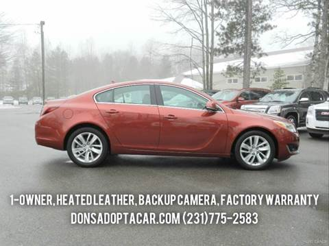 2014 Buick Regal for sale in Cadillac, MI