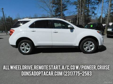 2010 Chevrolet Equinox for sale in Cadillac, MI