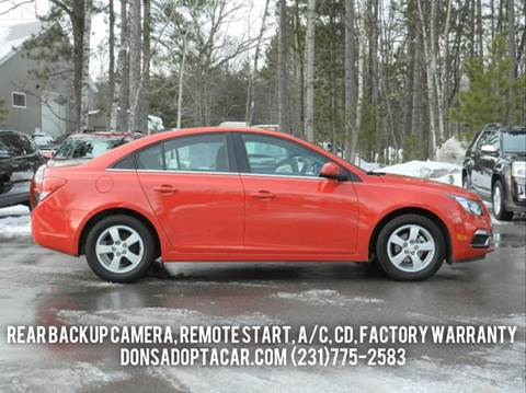 2016 Chevrolet Cruze Limited for sale in Cadillac, MI