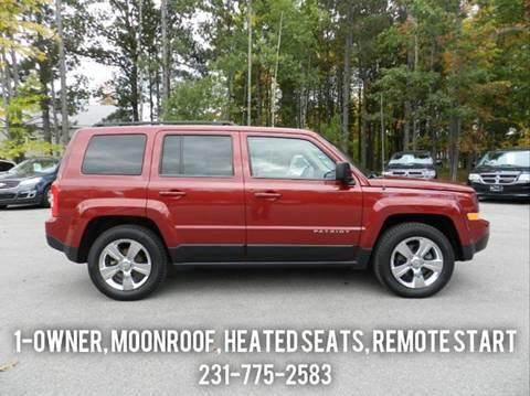2012 Jeep Patriot for sale in Cadillac, MI