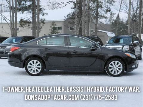 2013 Buick Regal for sale in Cadillac, MI