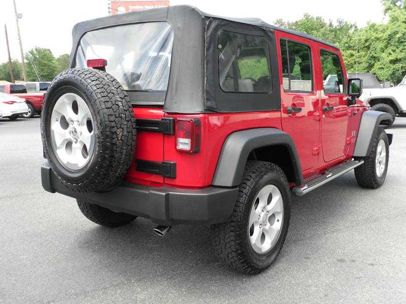 2008 Jeep Wrangler Unlimited 4x4 X 4dr SUV - Belmont NC